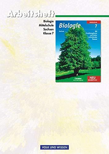 9783060127269: Biologie. 7. Sj. Arbeitsheft. Neubearbeitung. Sachsen