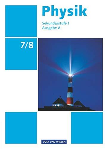9783060130337: Physik 7./8. Schuljahr. Schülerbuch Ausgabe A Sekundarstufe I