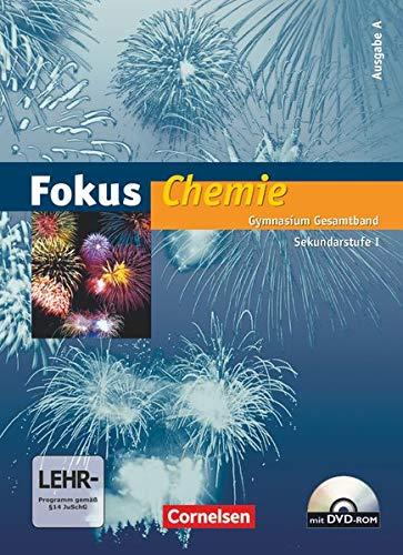 9783060139514: Fokus Chemie 8./10.. Schuljahr. Schülerbuch. Gymnasium - Ausgabe A. Gesamtband