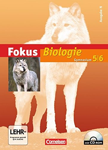 9783060142712: Fokus Biologie - Gymnasium - Ausgabe N 5/6. Schülerbuch
