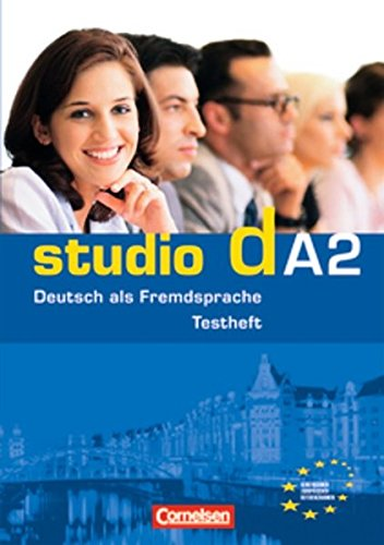 9783060200481: Studio D: Testheft A2 MIT Audio-CD (German Edition)