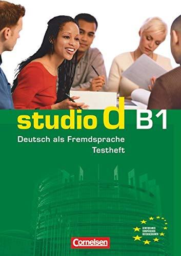 9783060200498: Studio d: Testheft B1 mit Audio-CD