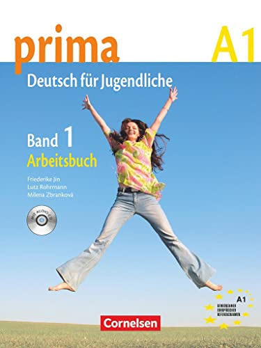 9783060200528: prima German: Arbeitsbuch mit Audio-CD, Band 1 (Workbook with Audio CD) (German Edition)
