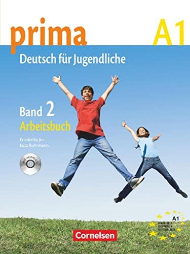 9783060200689: Prima. Deutsch für Jugendliche. A1. Arbeitsbuch. Con CD Audio. Per la Scuola media: prima A1. Band 2: Arbeitsbuch