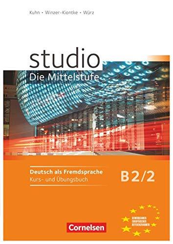 9783060200740: studio d - Die Mittelstufe: Kurs- und Ubungsbuch B2 Band 2