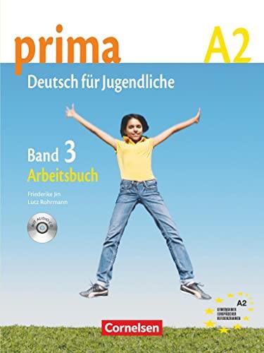9783060200764: Prima. Deutsch für jugendliche. A2. Arbeitsbuch. Con CD Audio. Per la Scuola media: prima A2. Band 3: Arbeitsbuch