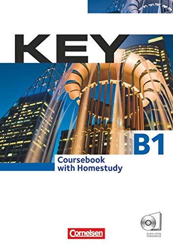 9783060201006: Key. Kursbuch mit CDs und Phrasebook: Europäischer Referenzrahmen: B1