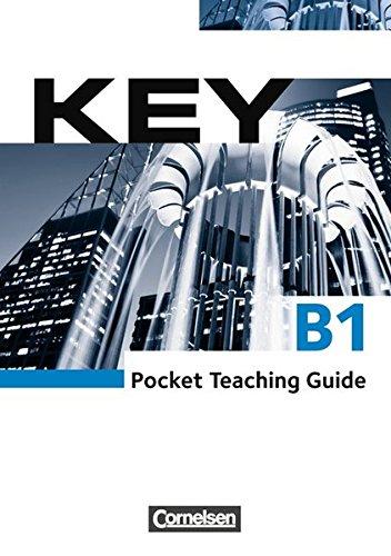 9783060201013: Key. Paket für Kursleiter/innen: Kursbuch mit Teaching Guide: Europäischer Referenzrahmen: B1