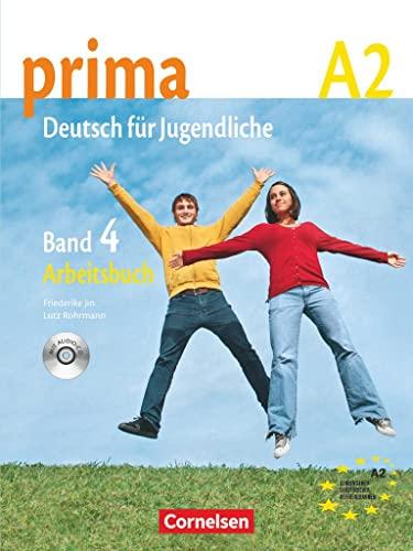 9783060201730: Prima - Deutsch Fur Jugendliche: Arbeitsbuch 4 MIT CD