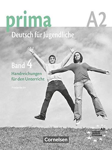 9783060201754: Prima - Deutsch Fur Jugendliche: Handreichungen Fur Den Unterricht 4