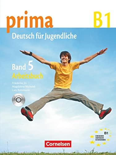 9783060201778: prima German: Arbeitsbuch mit Audio-CD Band 5 (Workbook with Audio CD) (German Edition)