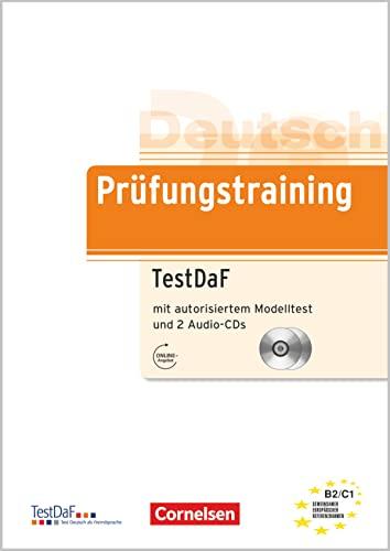 9783060203116: Prufungstraining Daf: Testdaf - Ubungsbuch MIT Autorisiertem Modelltest Und Cds (2) (German Edition)