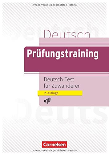9783060203741: Prufungstraining DaF: Deutsch-Test fur Zuwanderer - Ubungsbuch mit CD (A2