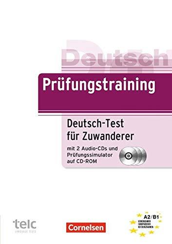 9783060204540: Prüfungstraining DaF. Deutsch-Test für Zuwanderer. Übungsbuch: A2/B1