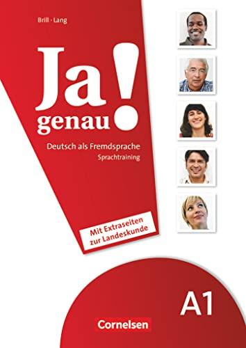 9783060204625: JA Genau!: Sprachtraining A1 Band 1 & 2 MIT Extraseiten Zur Landeskunde (German Edition)