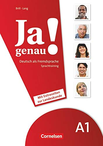 9783060204625: JA Genau!: Sprachtraining A1 Band 1 & 2 MIT Extraseiten Zur Landeskunde