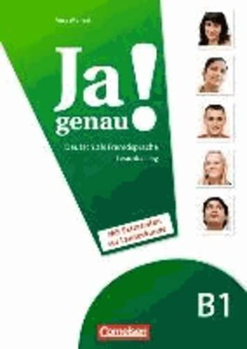 9783060204649: JA Genau!: Sprachtraining B1 Band 1 & 2 MIT Extraseiten Zur Landeskunde (German Edition)