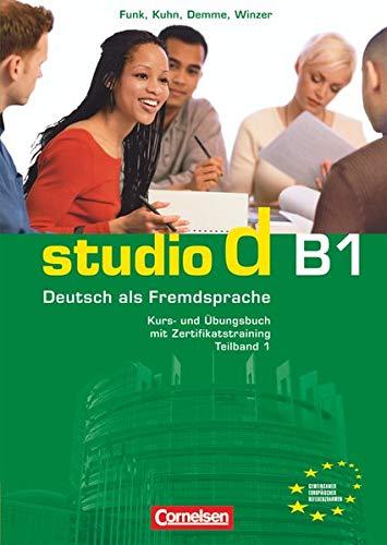 9783060204663: Studio d in Teilbanden: Kurs- und Ubungsbuch B1 mit Lerner-CD (Einheit 1-5)