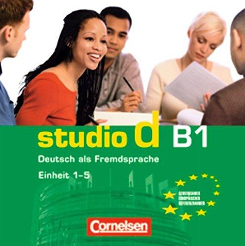 studio d B1. Deutsch als Fremdsprache. Einheit 1-5 (_AV)