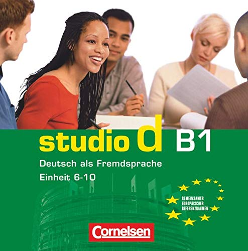 9783060204748: Studio D in Teilbanden: CD B1 (1) (Einheit 6-10) (German Edition)