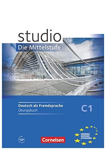 9783060205240: studio d C1 Mittelsstufe.  Arbeitsheft mit Audio-CD