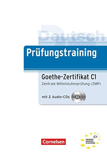 9783060205318: Prufungstraining Daf: Goethe-Zertifikat C1 - Ubungsbuch MIT Cds (2)
