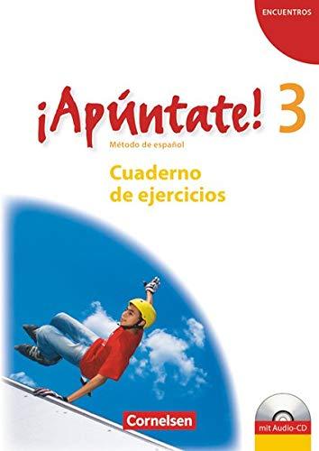 9783060205806: ¡Apúntate! - Ausgabe 2008 - Band 3 - Cuaderno de ejercicios mit Audio online