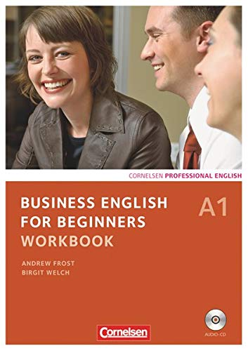 9783060206612: Business English for Beginners A1. Workbook mit CD: Europäischer Referenzrahmen: A1