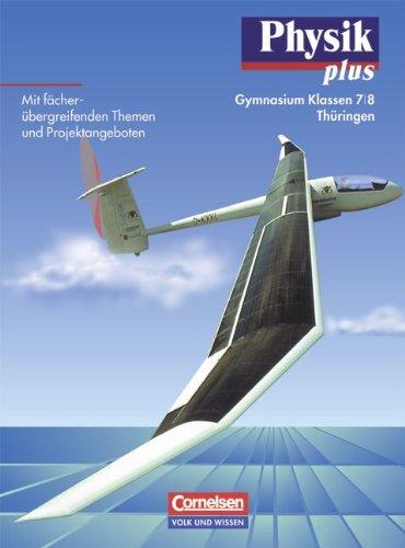 9783060207435: Physik plus 7/8. Lehrbuch. Gymnasium. Thüringen