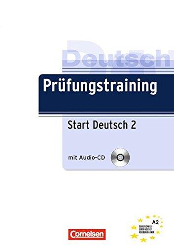 9783060207503: Prufungstraining Daf: Start Deutsch 2 - Ubungsbuch MIT CD (A2) (German Edition)