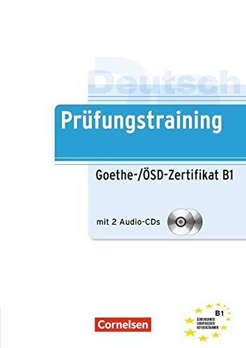 Prufungstraining DaF: Goethe-/OSD-Zertifikat B1 mit Audio-CDs (2): Dittrich, Roland,Maenner, Dieter