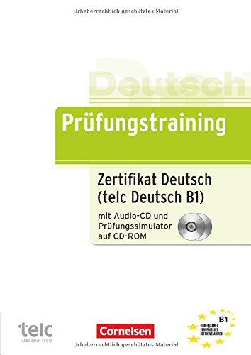 9783060210237: Prufungstraining Daf: Zertifikat Deutsch MIT CD Un Test-simulator Auf CD-ROM (B1) (German Edition)