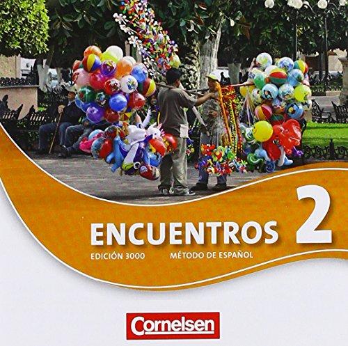 9783060210879: Encuentros 02. CDs und MP3-CD: 3. Fremdsprache - Edición 3000. 021086-2 und 520349-4 im Paket