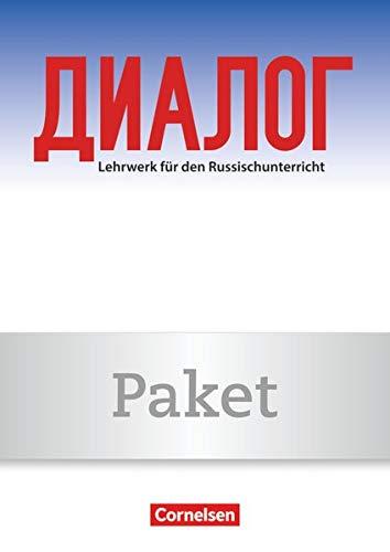 9783060213856: Dialog 1. Lernjahr. Arbeitsheft mit Hör-CD, CD-ROM und Schreibheft: 2. Fremdsprache. 120007-7 und 021044-2 im Paket
