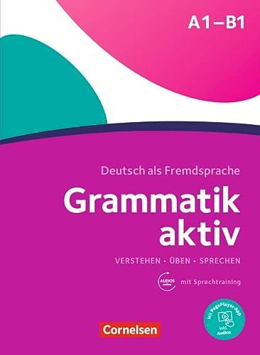 9783060239726: Grammatik aktiv: Ubungsgrammatik A1/B1 mit eingelegter Hor-CD