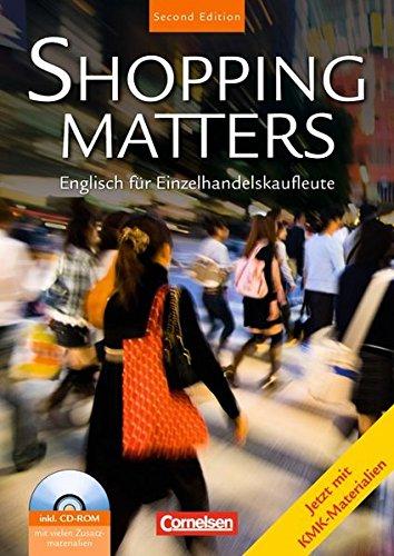 9783060241378: Shopping Matters. Schülerbuch mit Dokumenten-CD. Second Edition