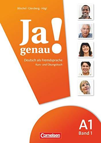9783060241576: JA Genau!: Kurs- Und Ubungsbuch MIT Losungen Und CD A1 Band 1