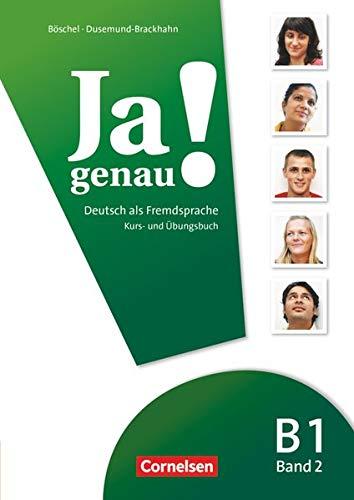 9783060241620: Ja genau!: B1: Band 2 - Kurs- und �bungsbuch mit L�sungen und Audio-CD