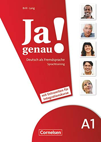 9783060241637: JA Genau!: Sprachtraining Daz MIT Differenzierungsmaterial A1 Band 1 & 2 (German Edition)