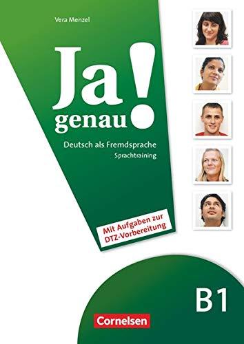 9783060241651: Ja Genau!: Sprachtraining B1 Band 1 & 2 MIT Differenzierungsmaterial (German Edition)