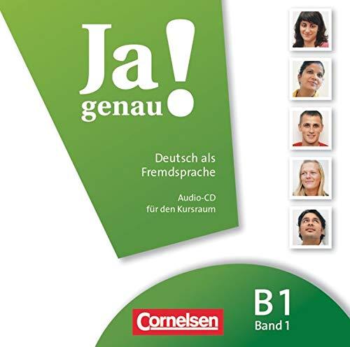9783060241705: JA Genau!: CD B1 Band 1