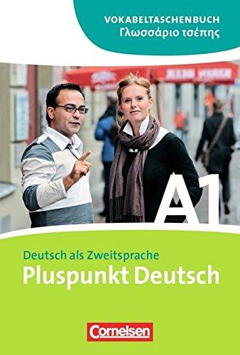 9783060242160: Pluspunkt Deutsch A1: Gesamtband. Vokabeltaschenbuch Deutsch-Griechisch