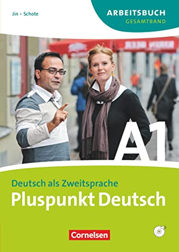 9783060242801: Pluspunkt Deutsch Der Integrationskurs Deutsch als Zweitsprache Ausgabe 2009 A1: Gesamtband Arbeitsbuch mit Lösungen und CD: Gesamtband 1 (Einheit 1-14) - Europäischer Referenzrahmen: A1