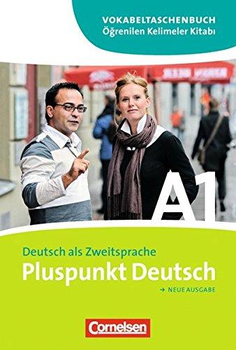9783060242986: Pluspunkt Deutsch. Gesamtband 1 (Einheit 1-14). Vokabeltaschenbuch. Deutsch-Türkisch. Europäischer Referenzrahmen: A1