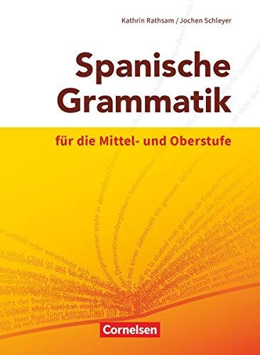 9783060243846: Spanische Grammatik für die Mittel- und Oberstufe