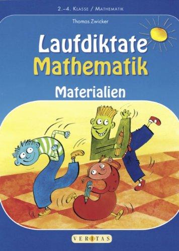 9783060250219: Laufdiktate Mathematik: Materialien für das 2.-4. Schuljahr