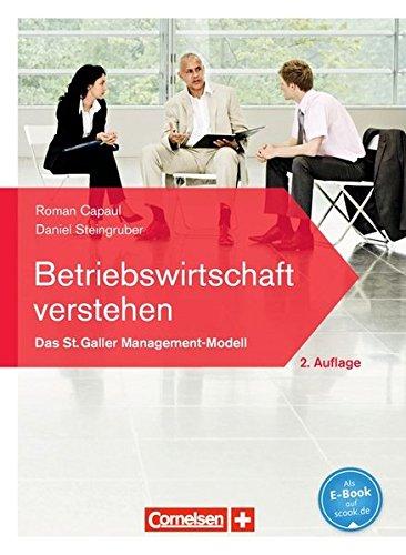9783060282333: Betriebswirtschaft verstehen Lehrbuch