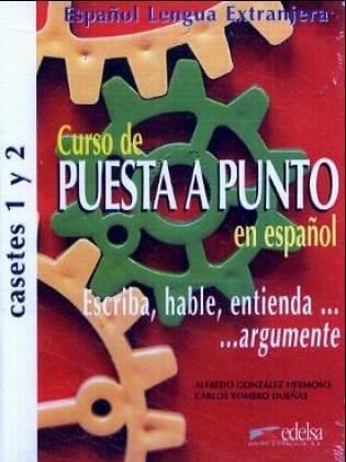 9783060300112: Curso de Puesta a punto en espanol. 2 Cassetten.