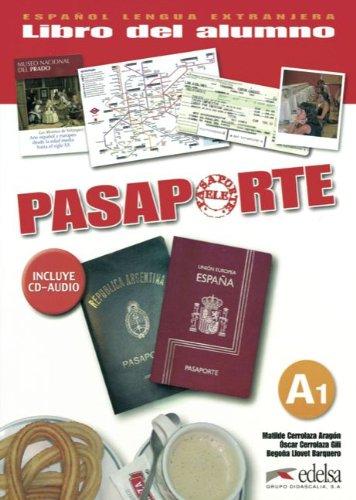 9783060300556: Pasaporte Nivel A1. Libro del alumno mit CD