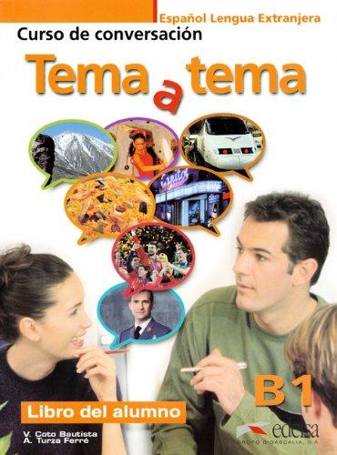 9783060301362: Tema y tema: Niveau B1 - Libro del alumno